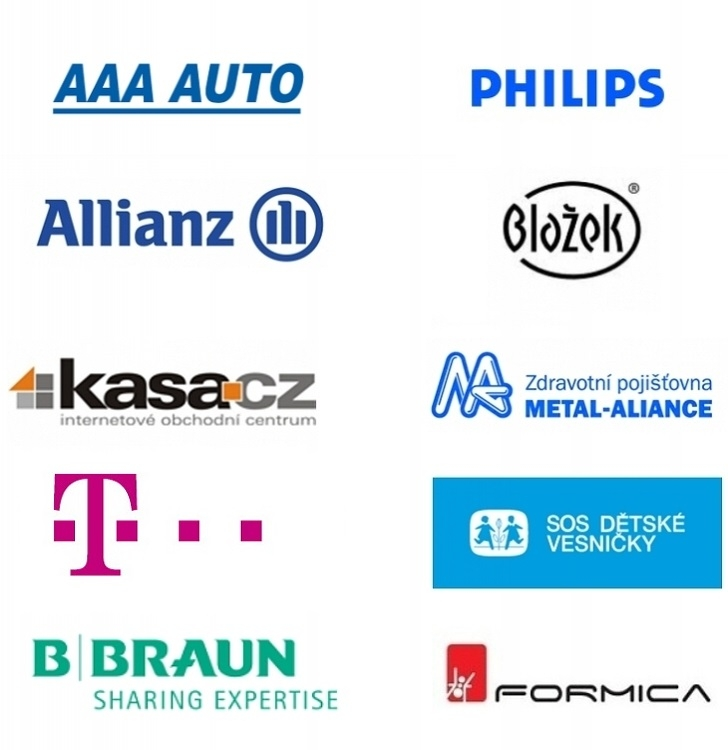 Klienti Data Mind: T-Mobile,   AAA Auto, Philips amnozí další